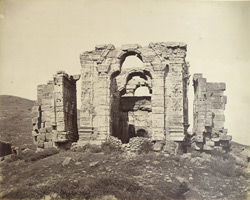 Ruins of Martand, Cashmere.